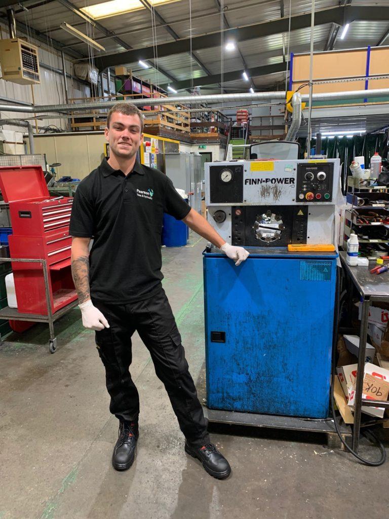 Dan Cook at Pearson Hose & Hydraulics